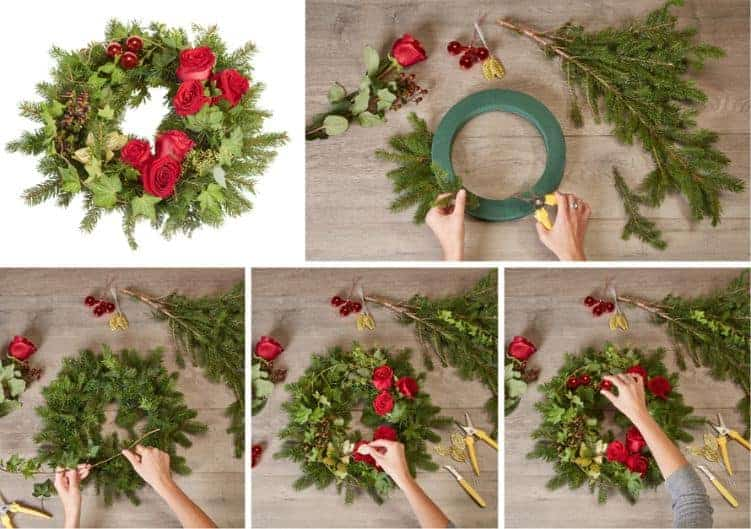 Holiday Wreaths-How To