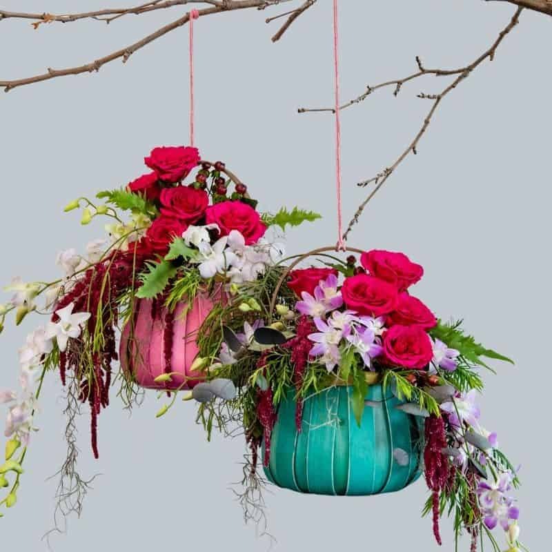 Hanging Basket Floral Design
