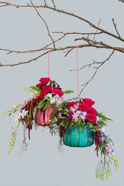 Hanging-by-a-thread-carnival-basket-lined-for-flowers