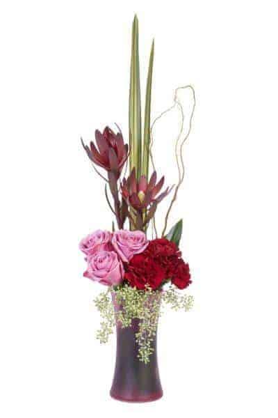Vertical Floral Design Mechanics