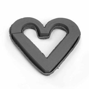 OASIS NOIR BIOLIT O/HEART 43CM