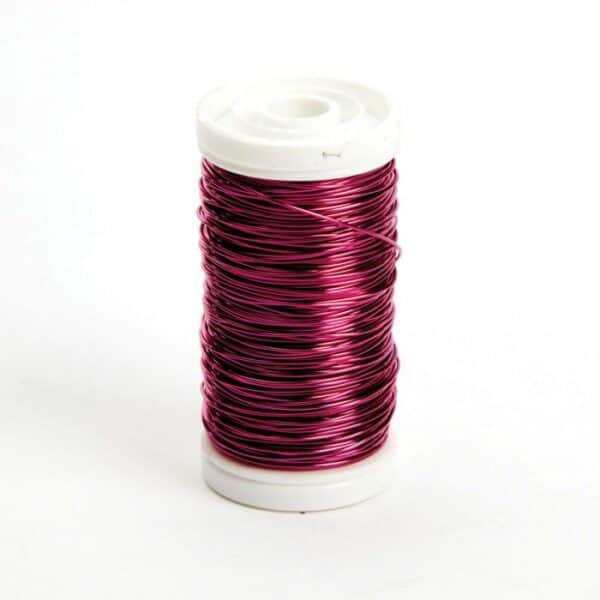 Metallic Wire Strong Pink