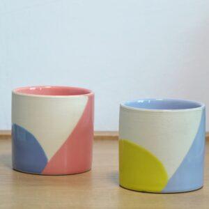 Ceramic Pots 9.5cm x 9cm